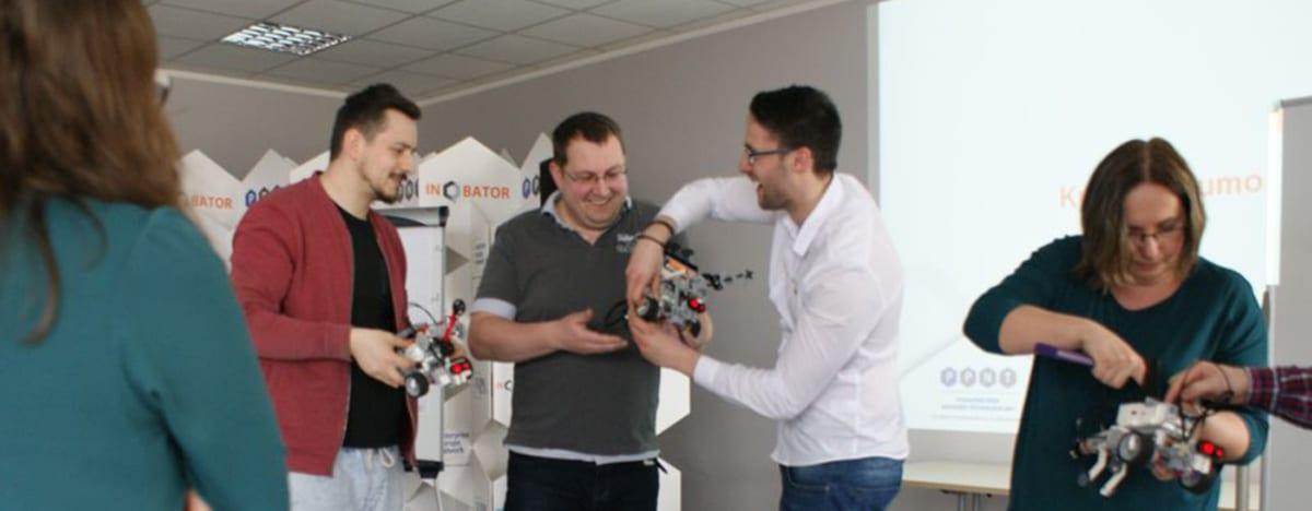 Integracje firmowe robotyka